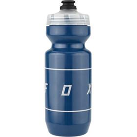 Fox Moth Purist Wasserflasche 650ml blau